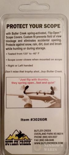 """Two Butler Creek SCOPE COVERS 26 Obj 1.82"""" 46.2mm-img-2"""